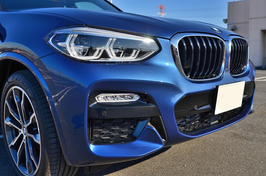 BMW X3 20dグリル