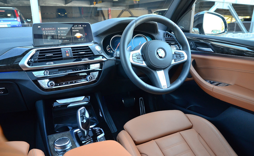 BMW X3 20dインテリア