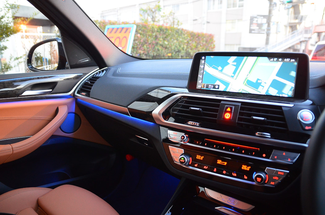BMW X3 20dアンビエントライト