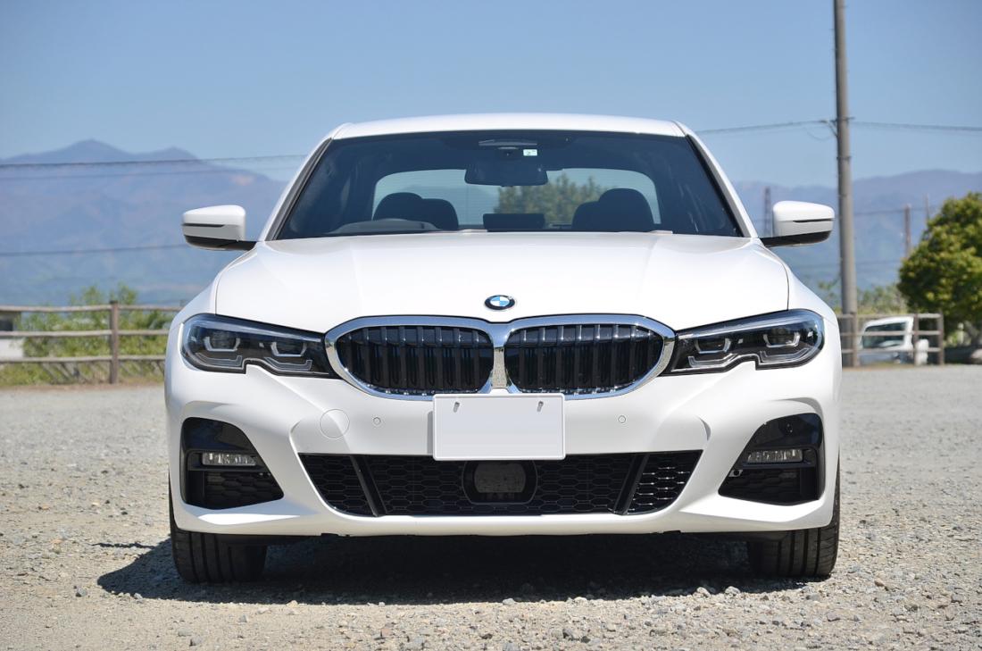BMW3シリーズフロント