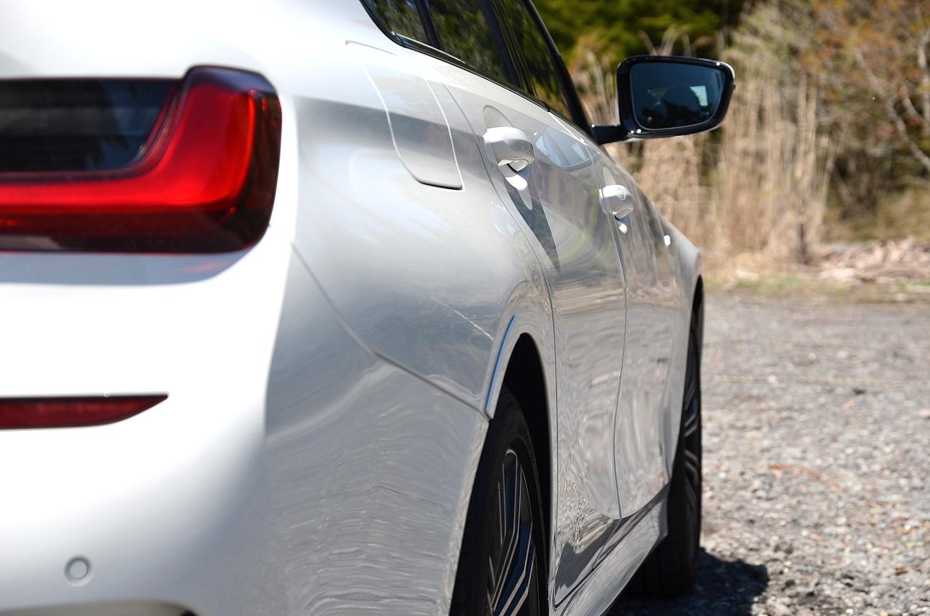 BMW3シリーズ リアフェンダー