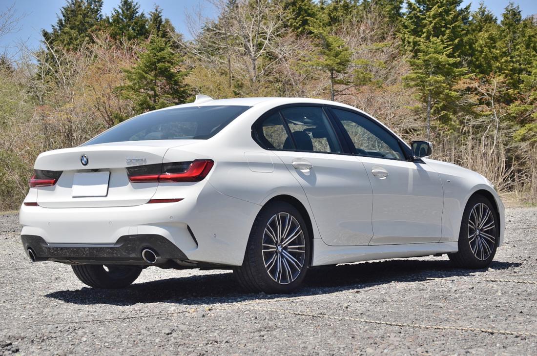 BMW3シリーズ リアビュー