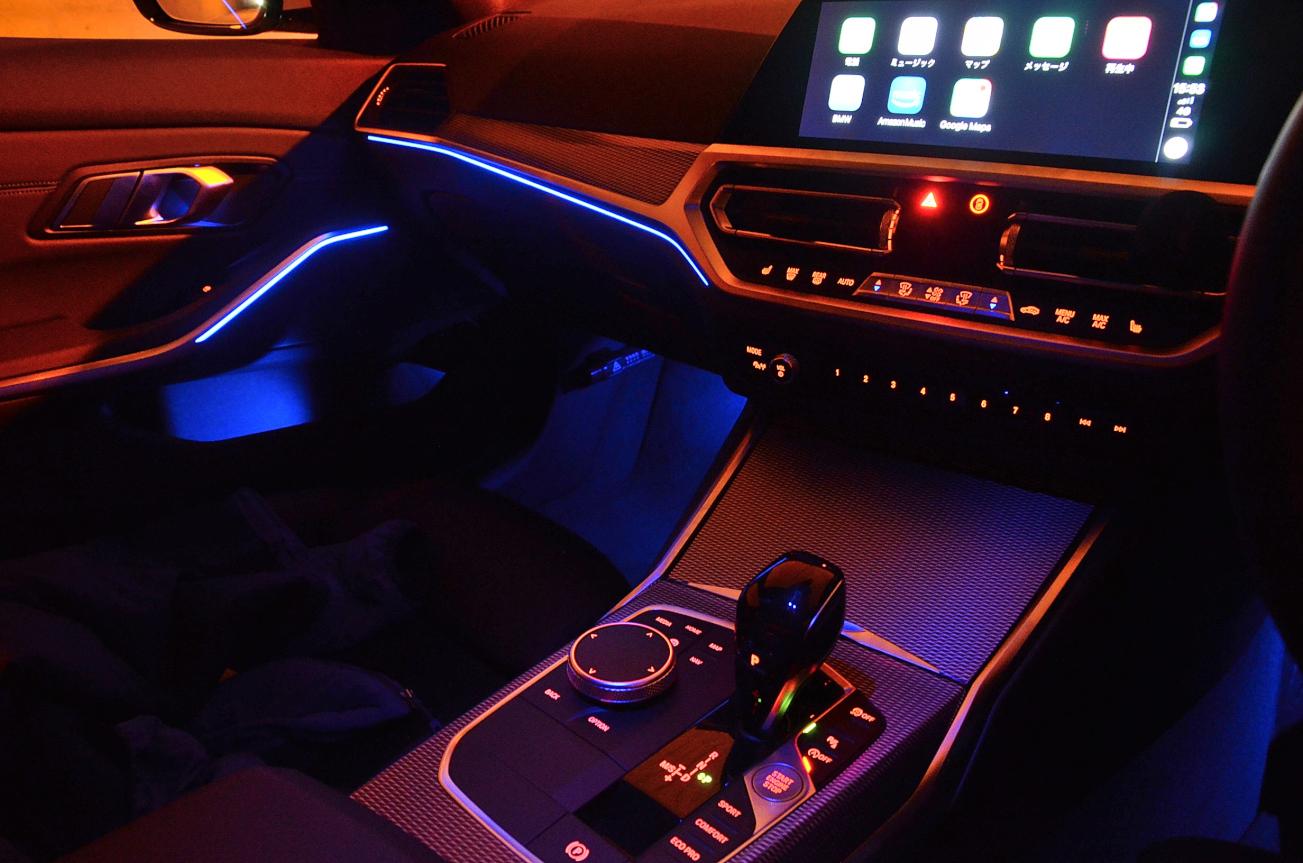 BMW3シリーズ アンビエントライト